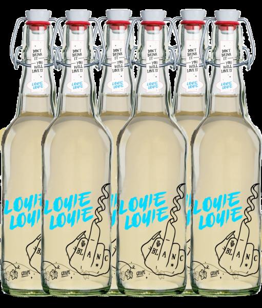 24 er Karton - Louie Louie Bio Weißweincuvée trocken