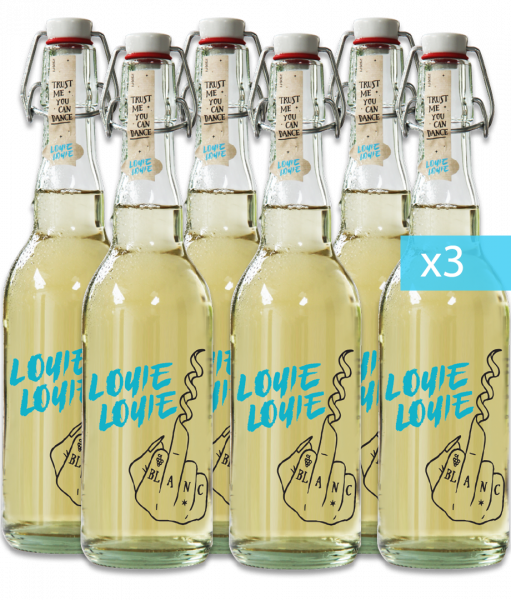 18er Karton - Louie Louie Bio Weißweincuvée trocken