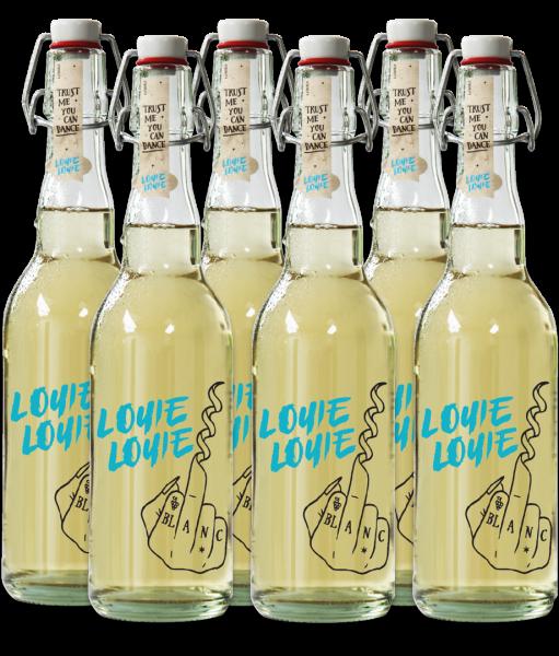 6 er Karton - Louie Louie Bio Weißweincuvée trocken